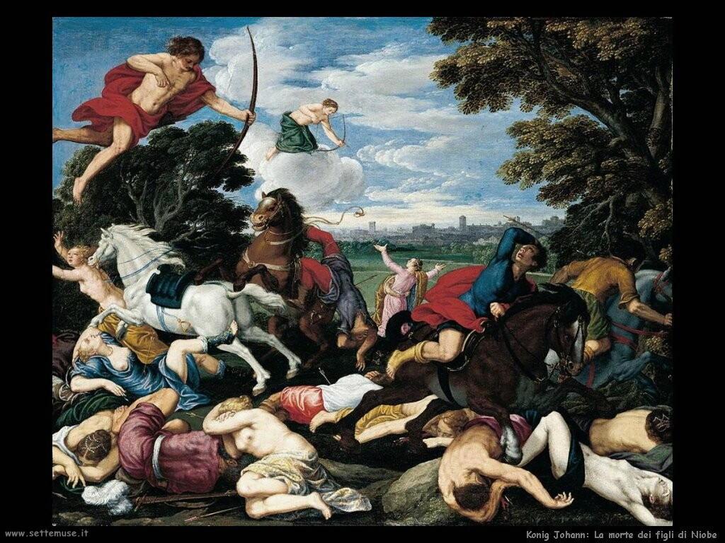 konig johann La morte dei figli di Niobe