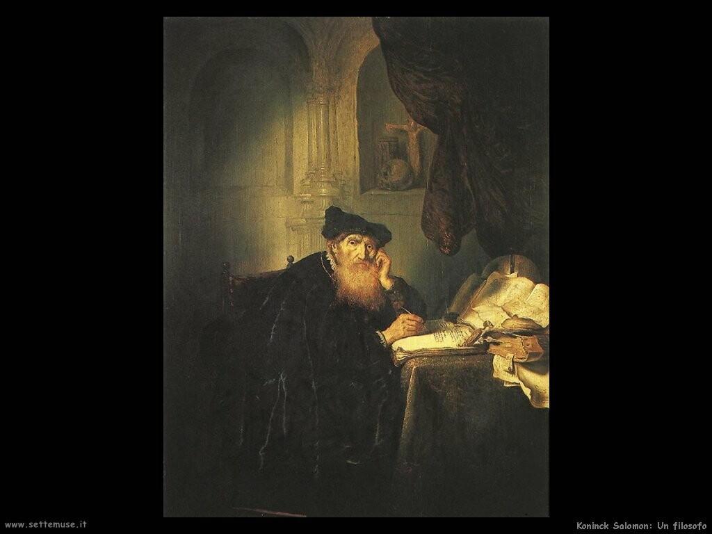 koninck salomon Un filosofo