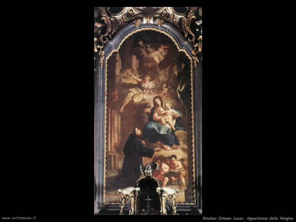 kracker johann lucas Apparizione della Vergine