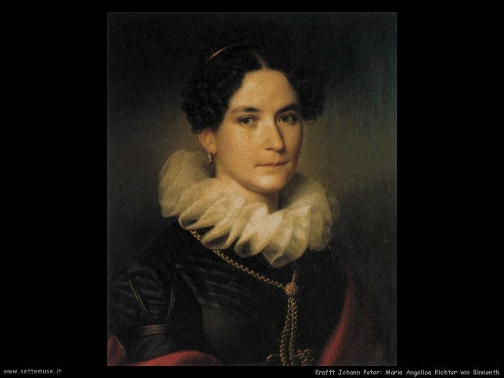 krafft johann peter Maria Angelica Richter von Binnenth