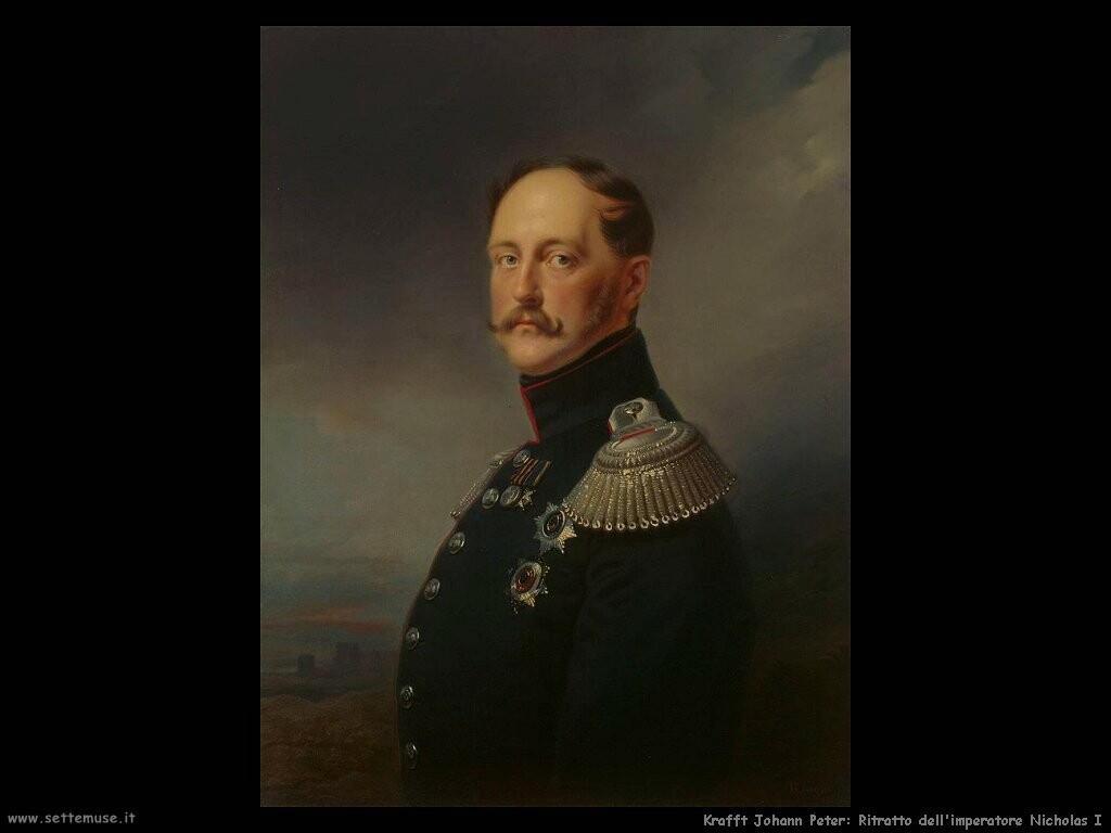 kruger franz Ritratto dell'imperatore Nicholas