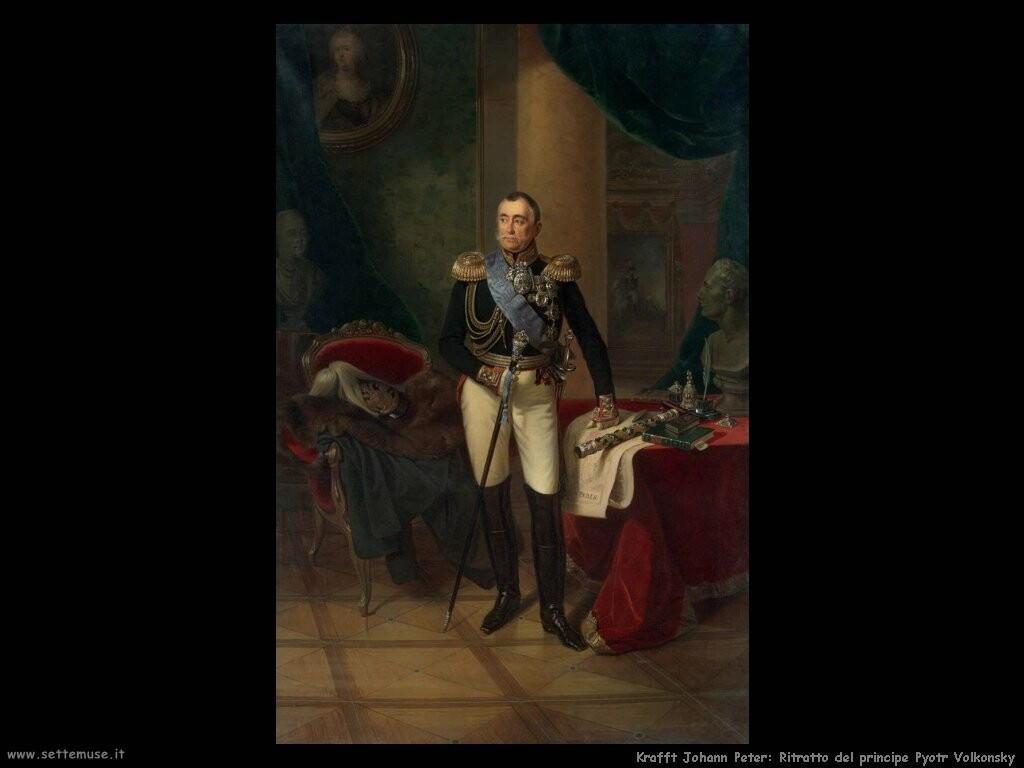 kruger franz Ritratto del principe Pyotr Volkonsky