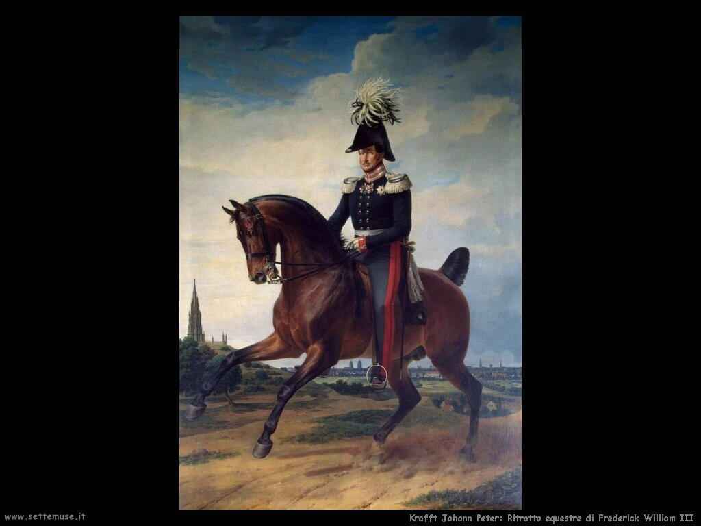 kruger franz Ritratto equestre di Frederick William III