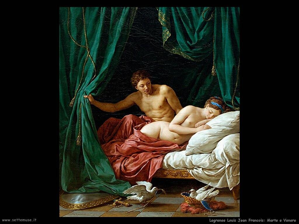 lagrenee louis jean francois Marte e Venere