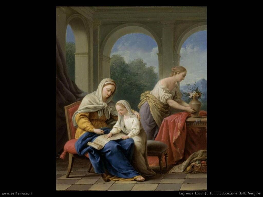 lagrenee_louis_jean_francois L'educazione della Vergine