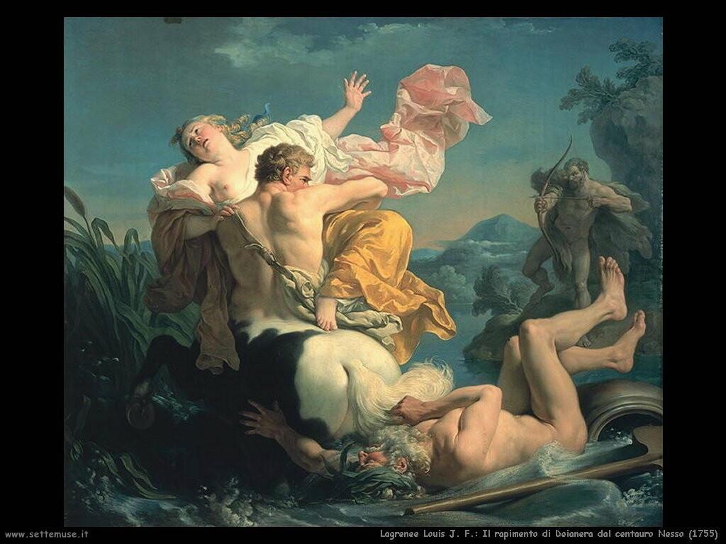 lagrenee_louis_jean_francois Il rapimento di Deianera dal centauro Nesso