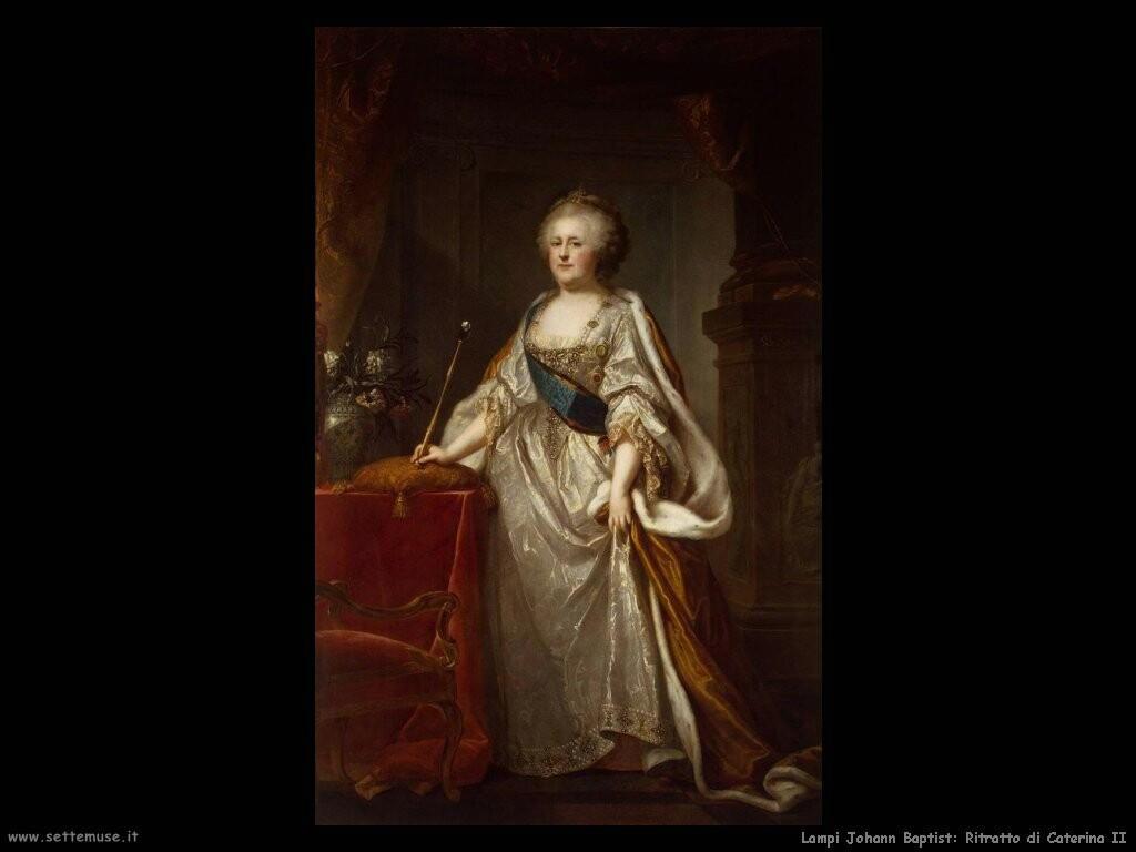 lampi_johann_baptist  Ritratto di Caterina II