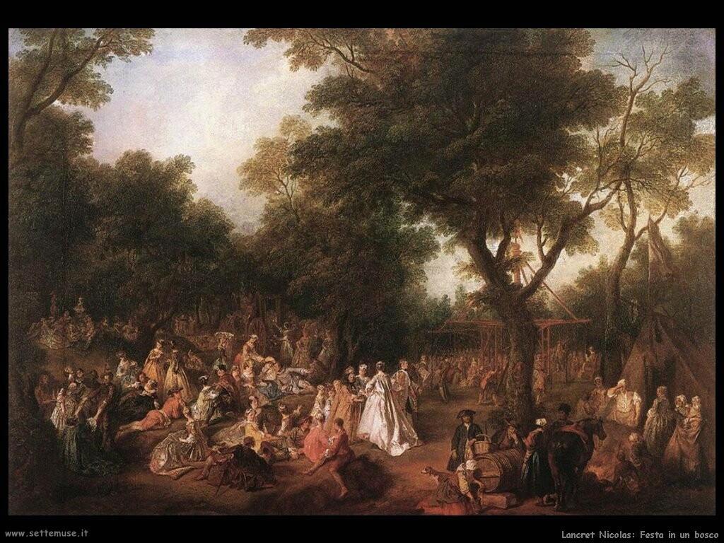 lancret_nicolas  Festa nel bosco