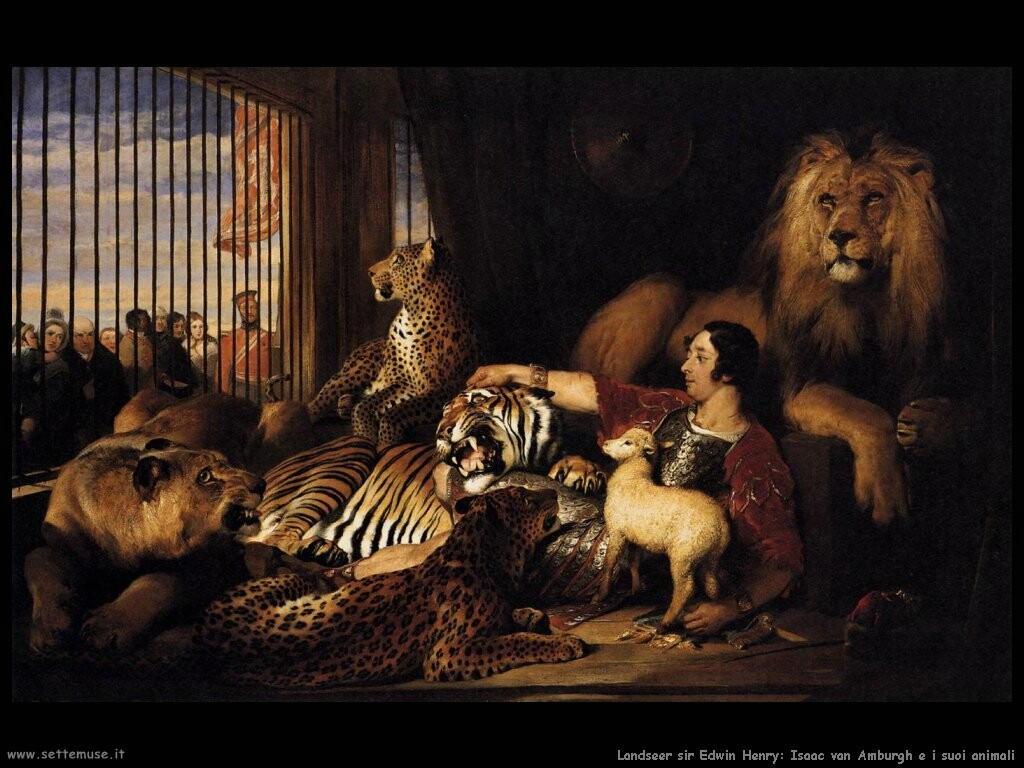 landseer_sir_edwin_henry  Isaac van Amburgh e i suoi animali