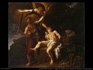 lastman_pieter_pietersz L'angelo del Signore ferma Abramo dal sacrificio