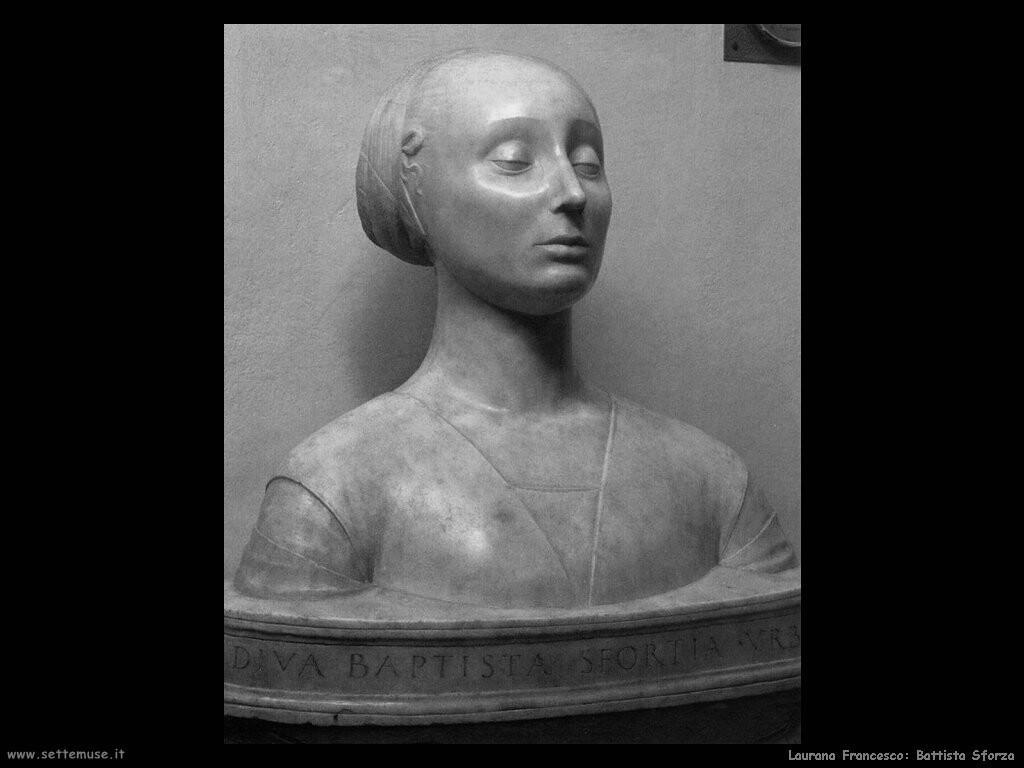 laurana_francesco Battista Sforza