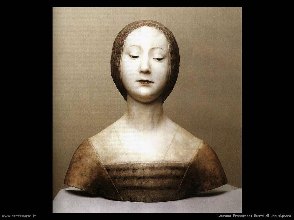 laurana_francesco Busto di una signora