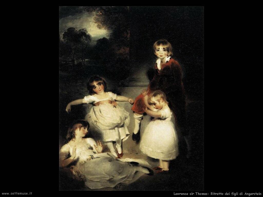 lawrence_sir_thomas Ritratto dei bambini di John Angerstein