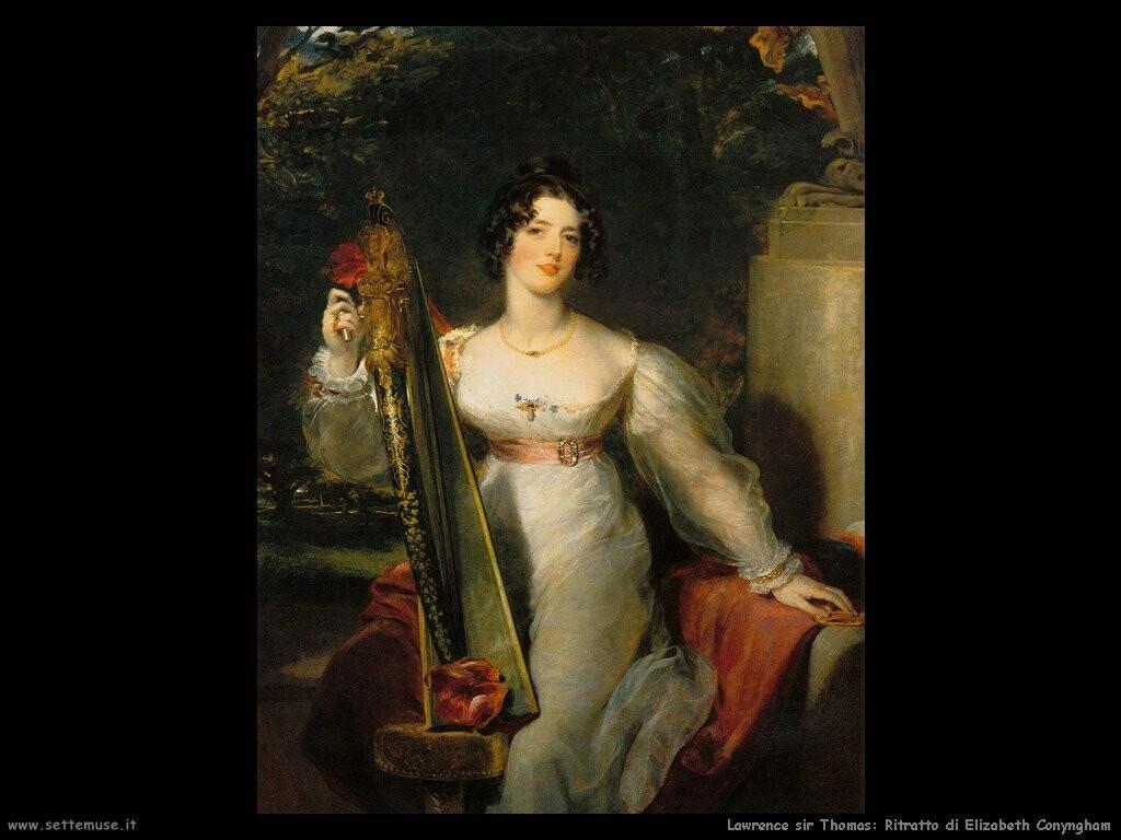 lawrence_sir_thomas Ritratto di lady Elizabeth Conyngham