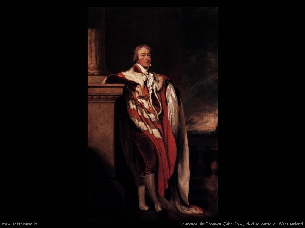 lawrence_sir_thomas John Fane decimo conte di Westmorland