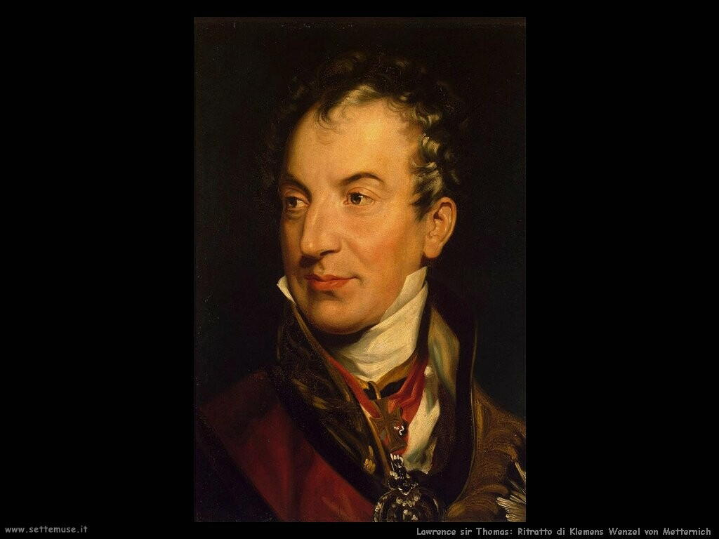 lawrence_sir_thomas Ritratto di Klemens Wenzel von Metternich