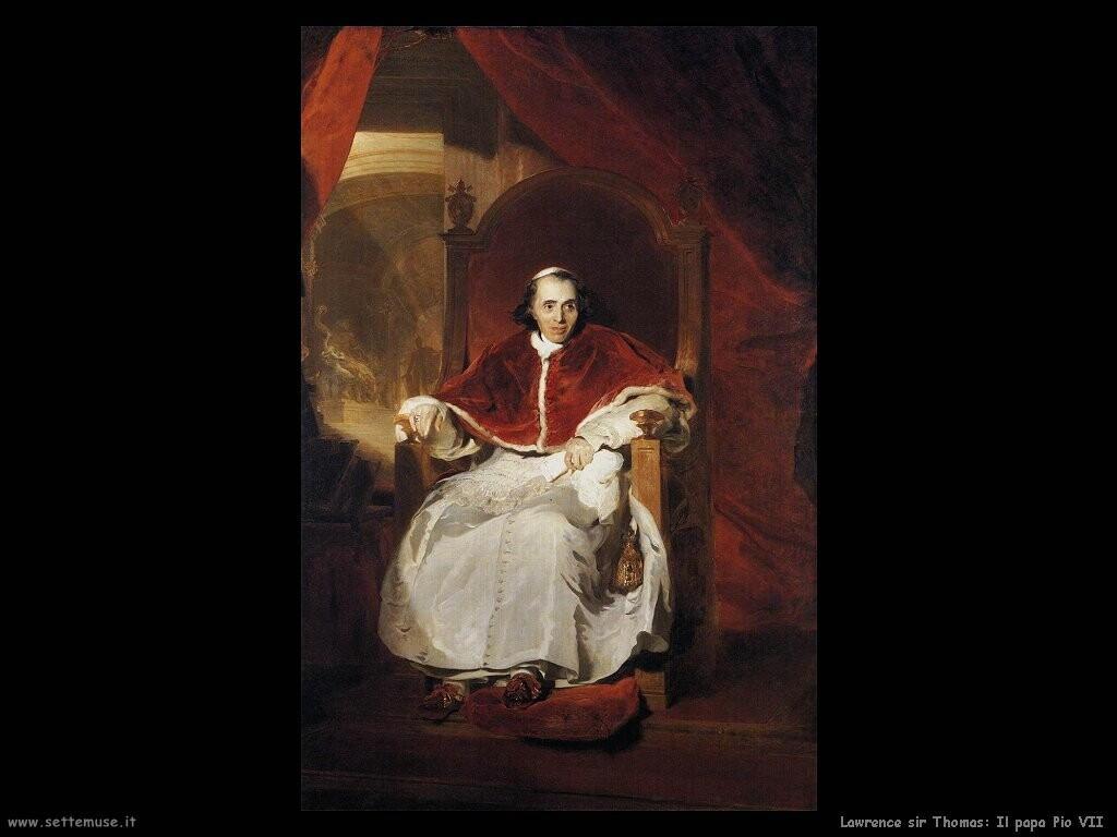 lawrence_sir_thomas Papa Pio VII