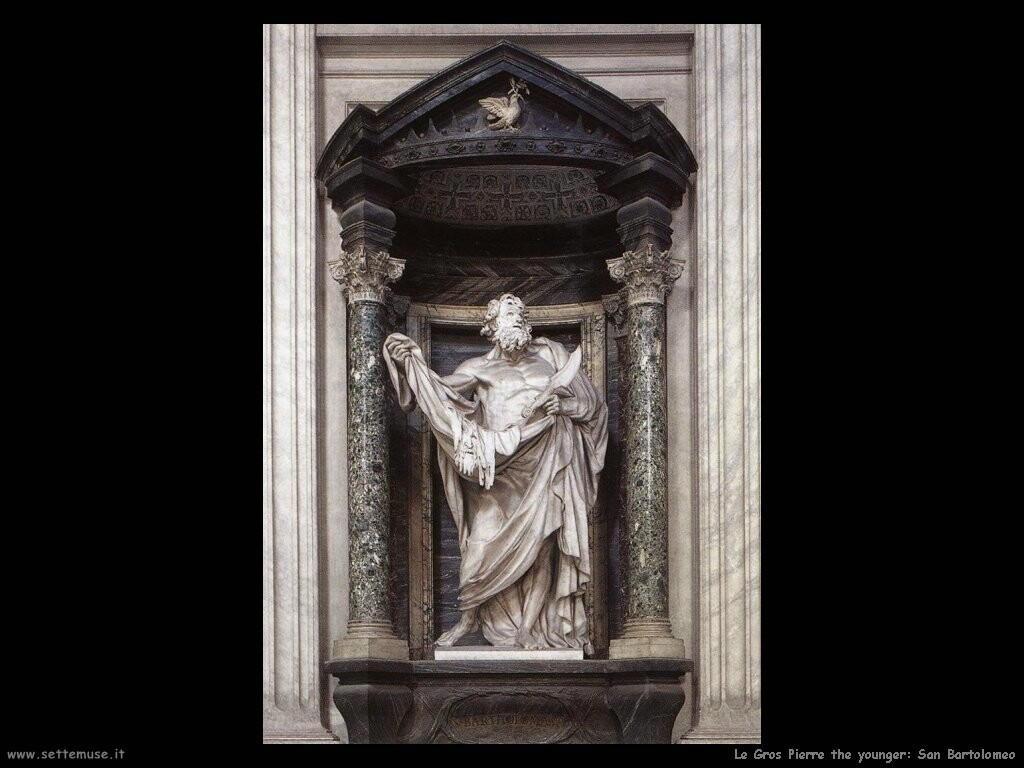 le_gros_pierre_the_younger  San Bartolomeo