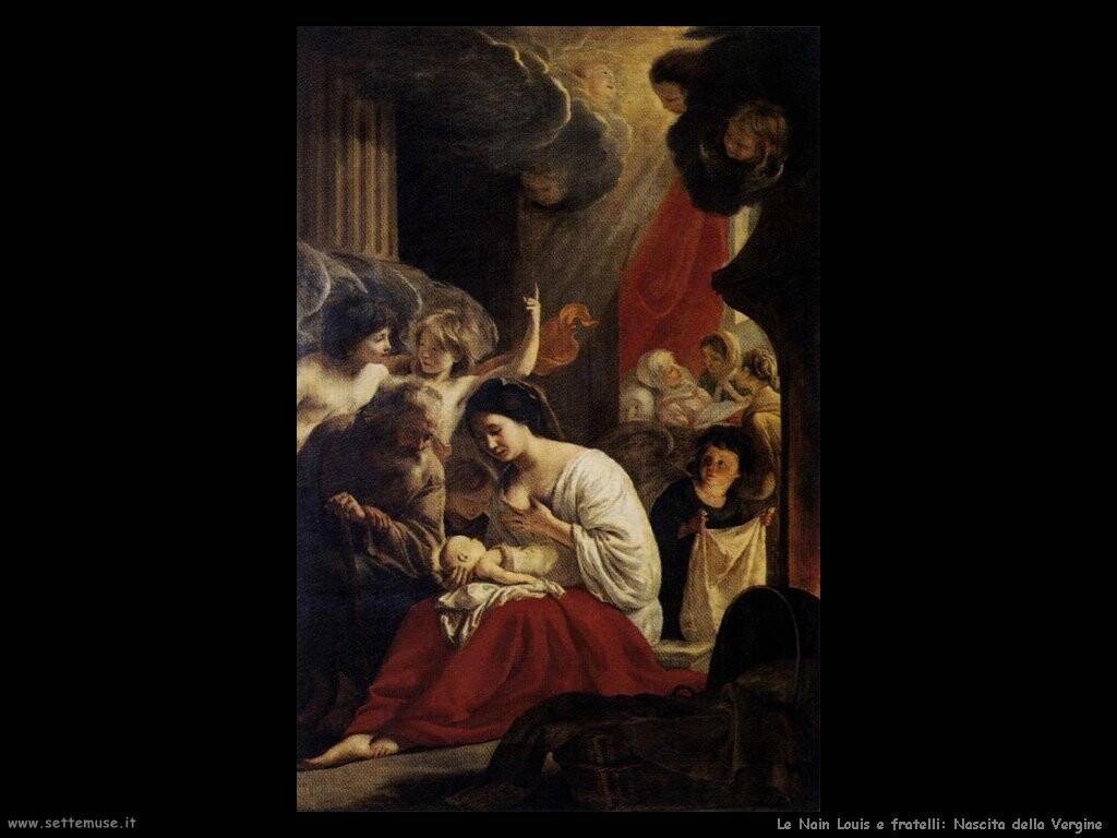 le_nain_brothers Nascita della Vergine