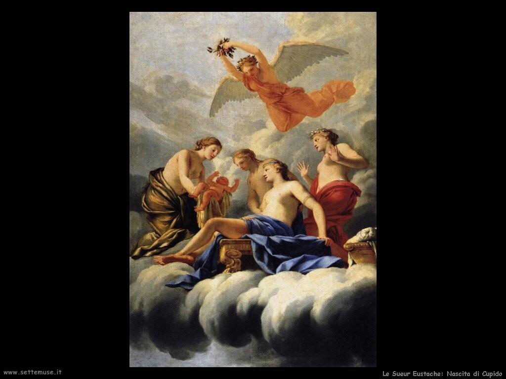le_sueur_eustache La nascita di Cupido