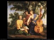 le_sueur_eustache Le muse Melpomene, Erato e Polimnia