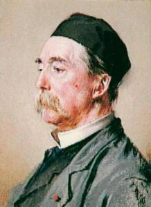 Autoritratto di Jules Joseph Lefebvre