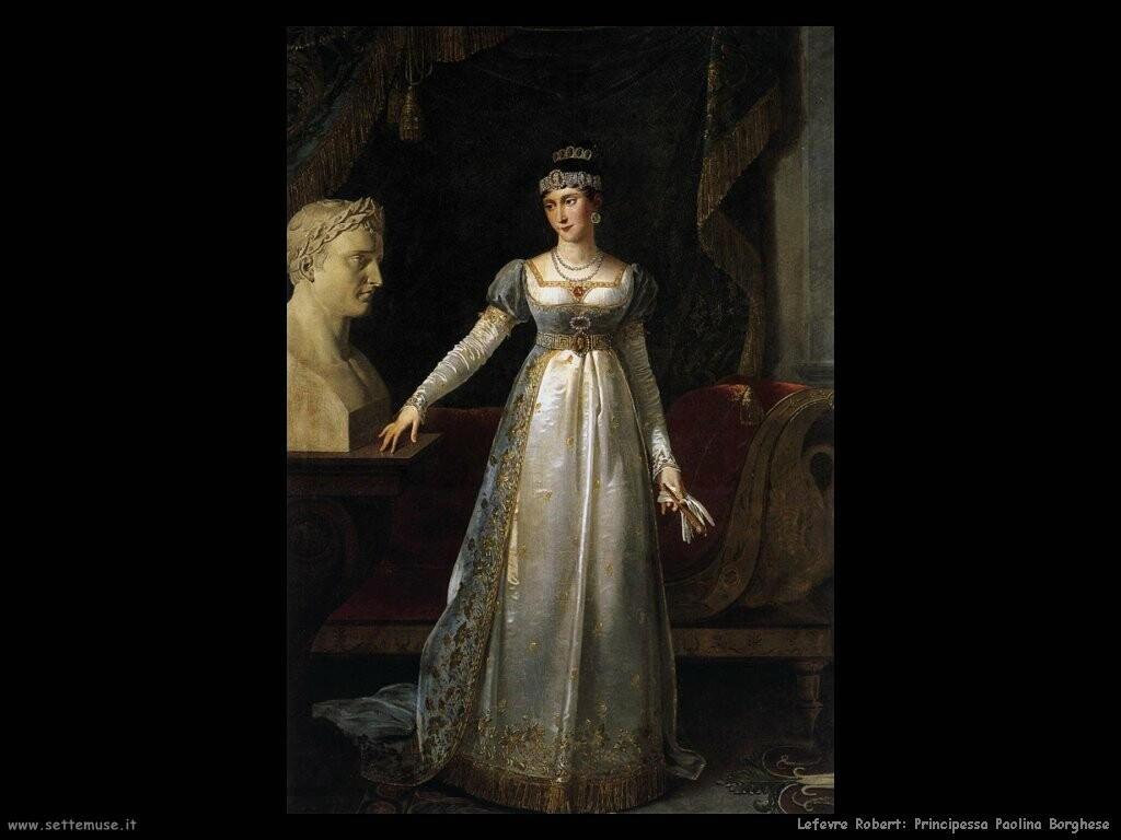 lefevre robert Principessa Paolina Borghese