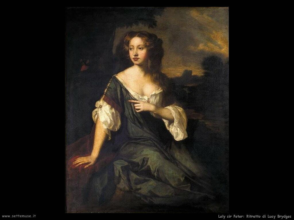 lely sir_peter Ritratto di Lucy Brydges