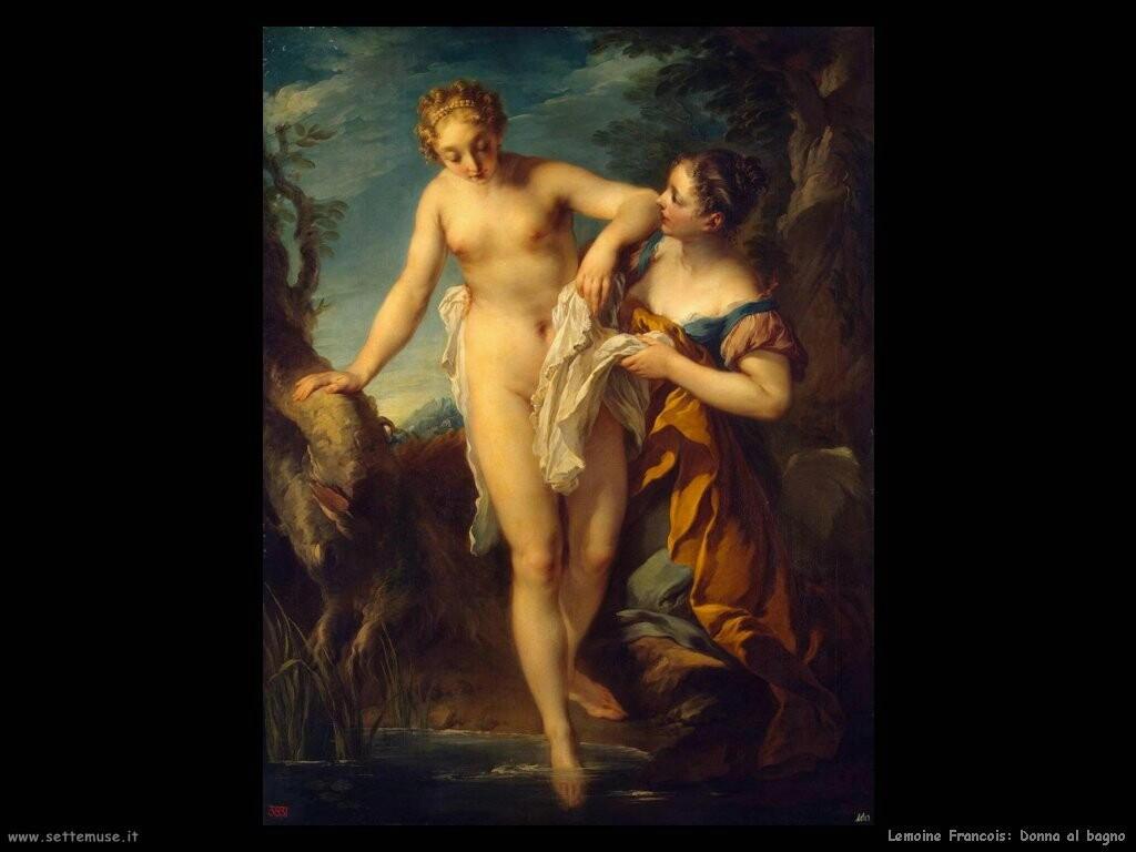 lemoine francois Donna al bagno