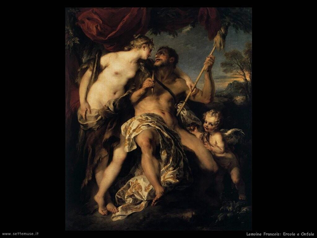 lemoine francois Ercole e Onfale