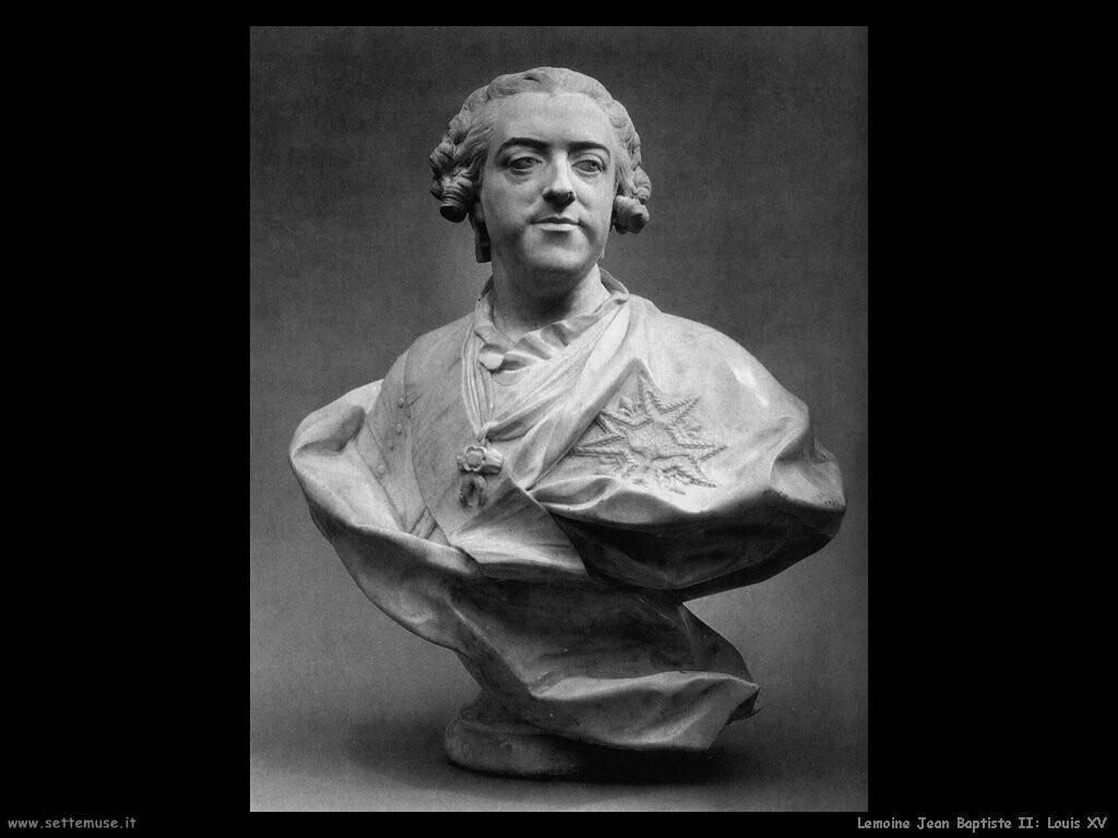 lemoine jean baptiste II Luigi XV