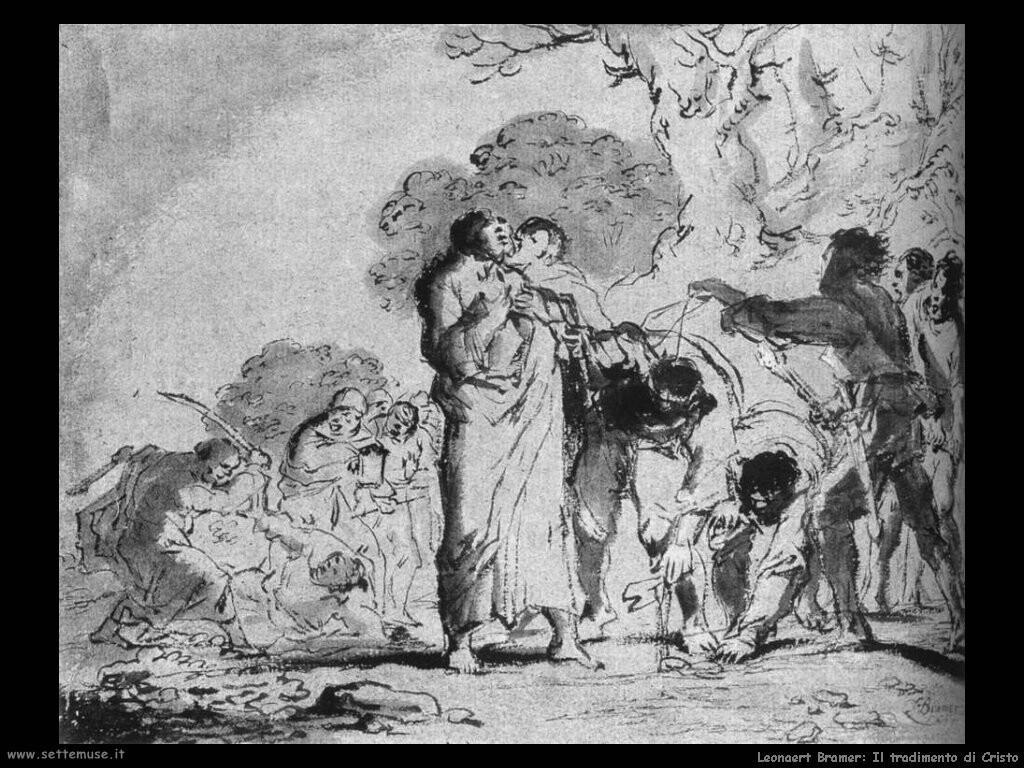 leonaert bramer Il tradimento di Cristo