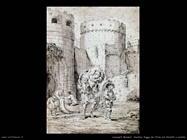 leonaert_bramer Anchias fugge da Troia con i fratelli e le sorelle