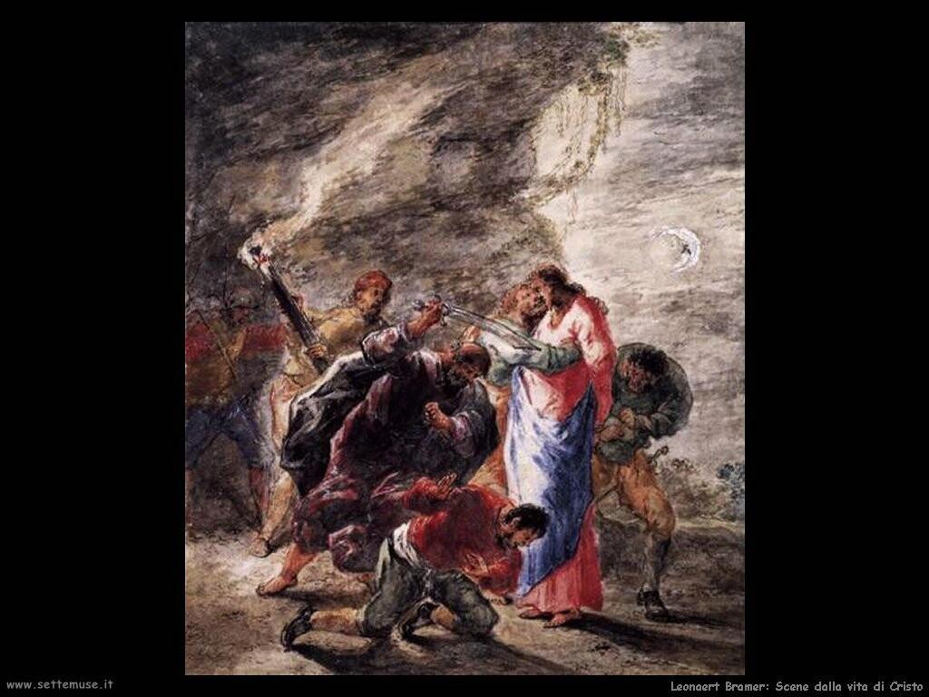 leonaert bramer Scene dalla vita di Cristo