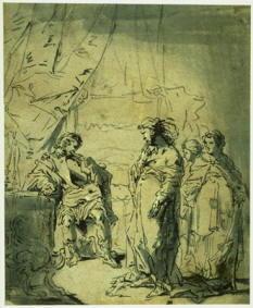 Disegno di Leonaert Bramer