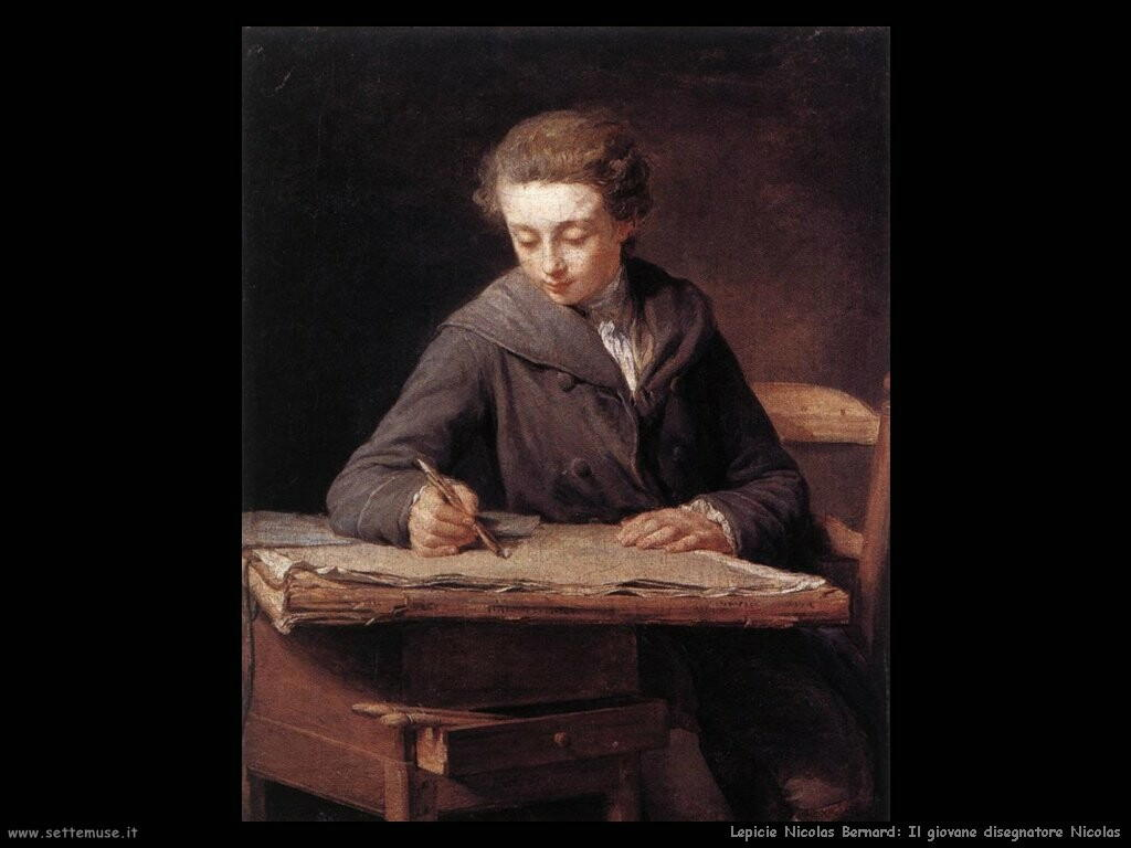 lepicie nicolas bernard  Il giovane disegnatore Nicolas