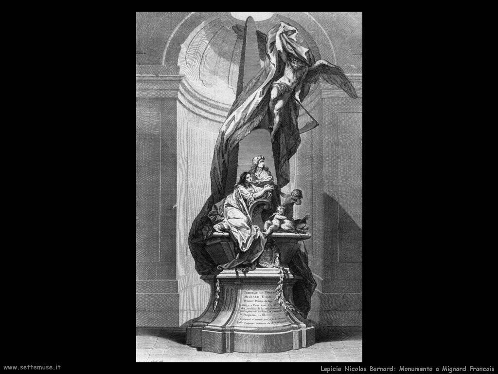 lepicie nicolas bernard Monumento a Mignard Francois