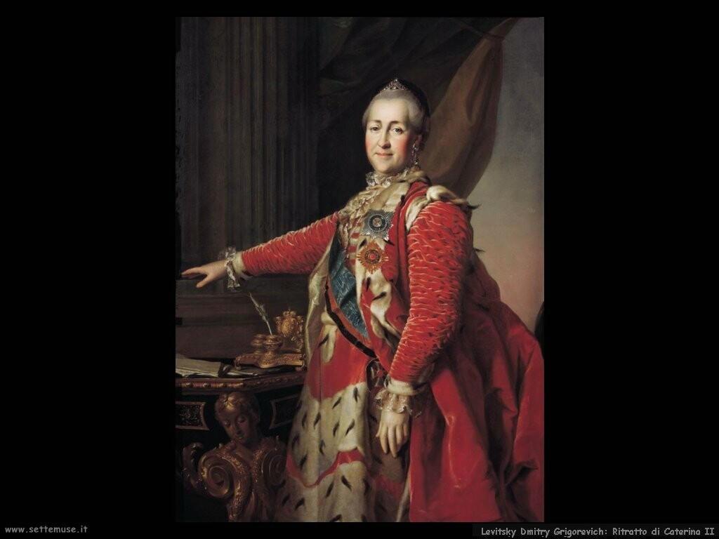 levitsky dmitry grigorevich Ritratto di Caterina II