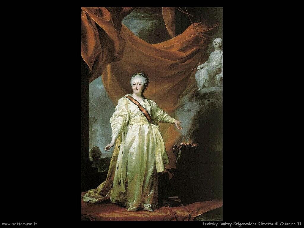 levitsky_dmitry_grigorevich Ritratto di Caterina II