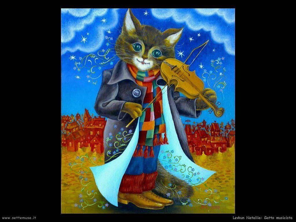levkun nataliia 014 gatto musicista
