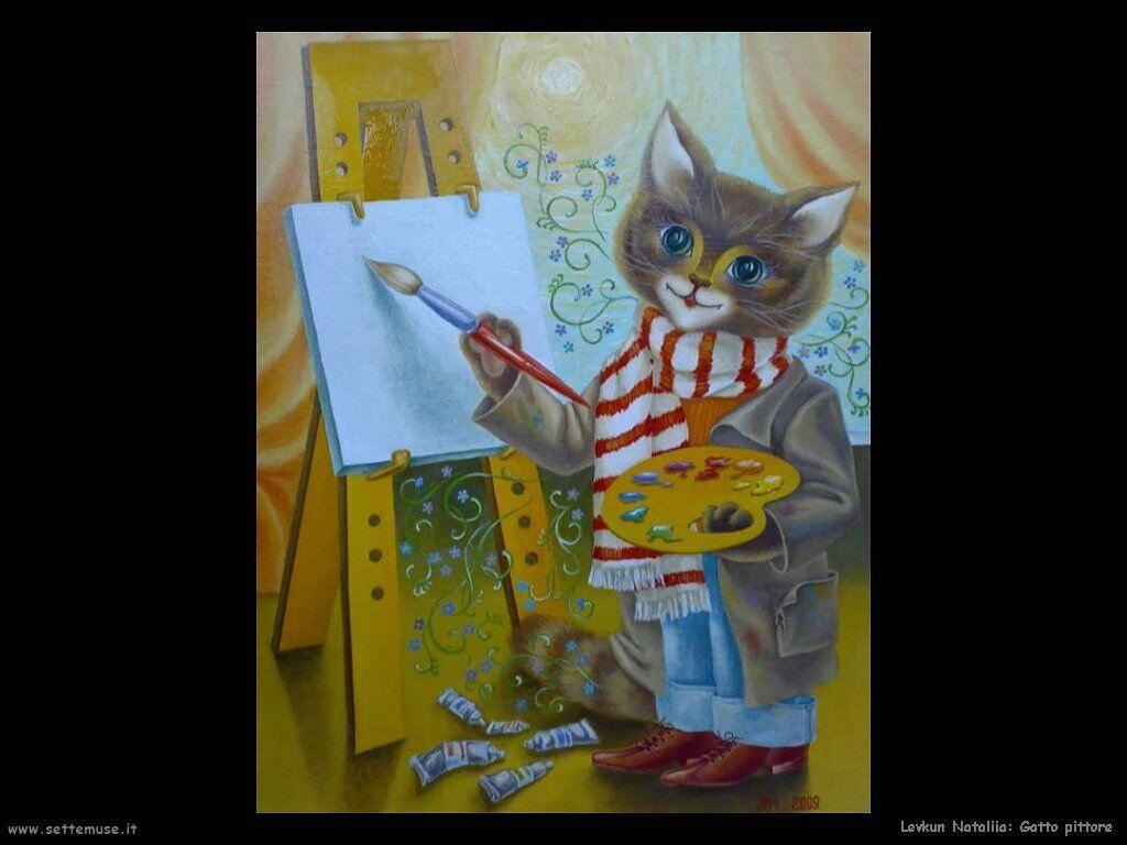 levkun_nataliia 015 gatto pittore