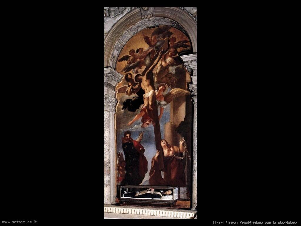 liberi pietro  Crocifissione con la Maddalena