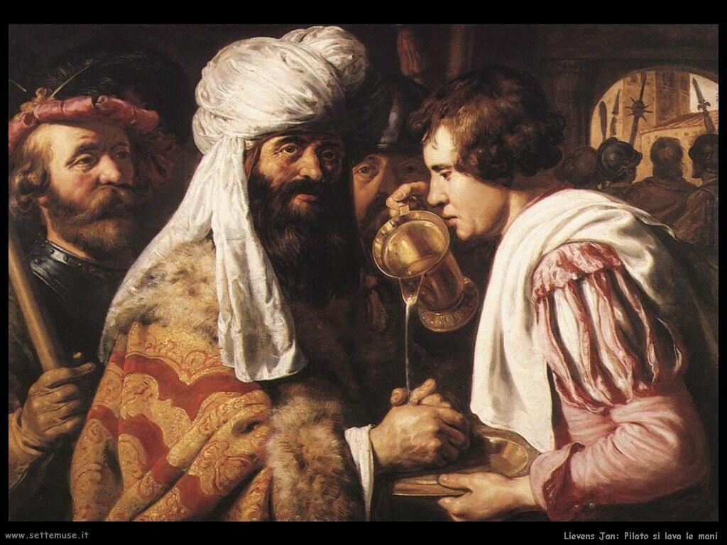 lievens_jan Pilato se ne lava le mani