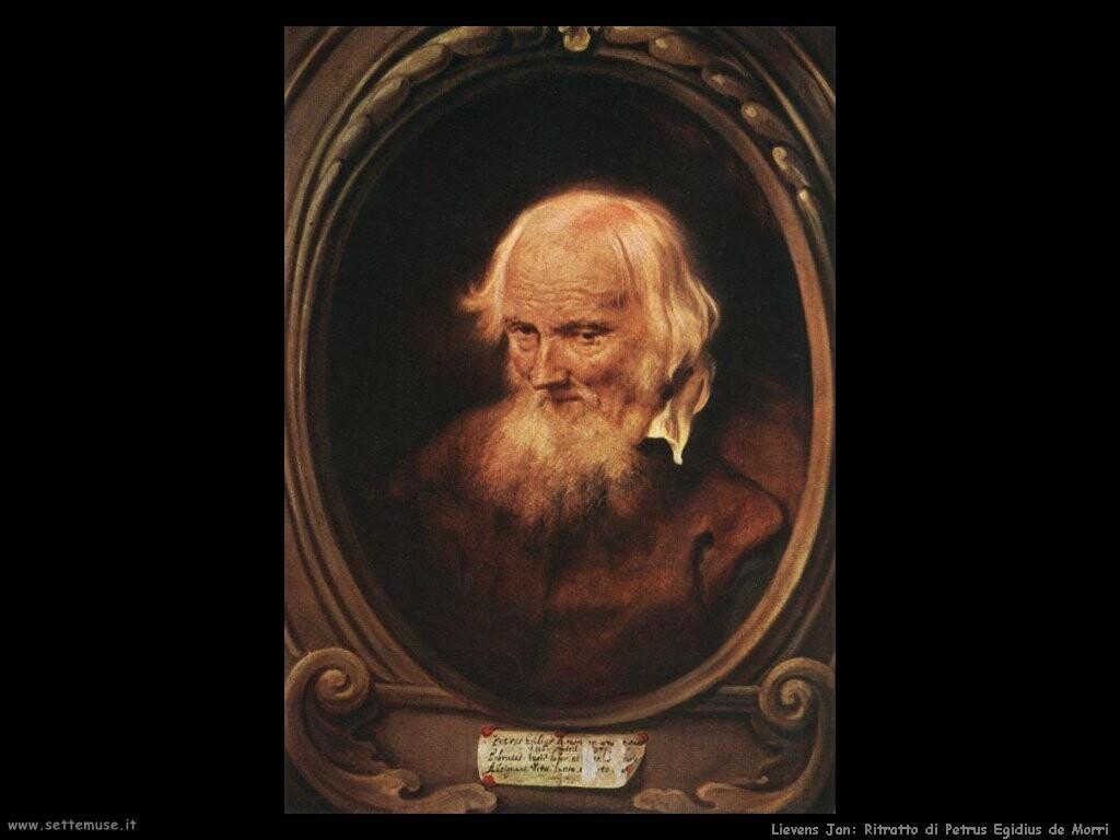lievens_jan Ritratto di Petrus Egidius de Morri
