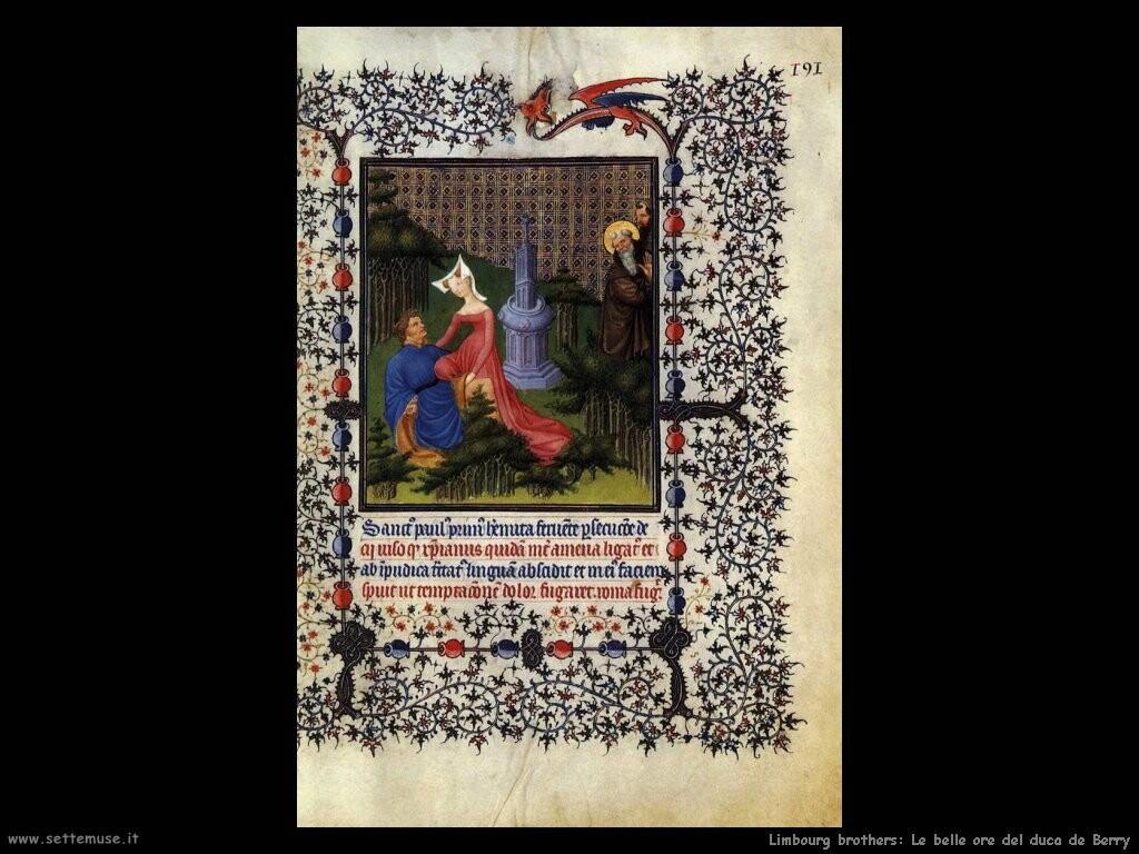 limbourg brothers Le belle ore di Jean duca di Berry