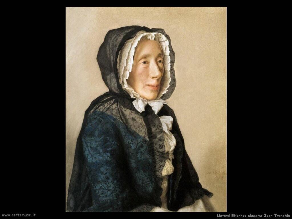 liotard etienne  Madame Jean Tronchi