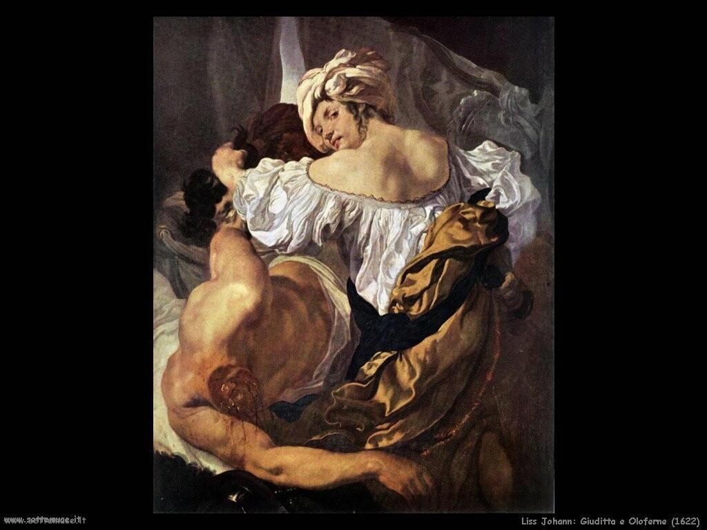 johann liss Giuditta e Oloferne (1622)