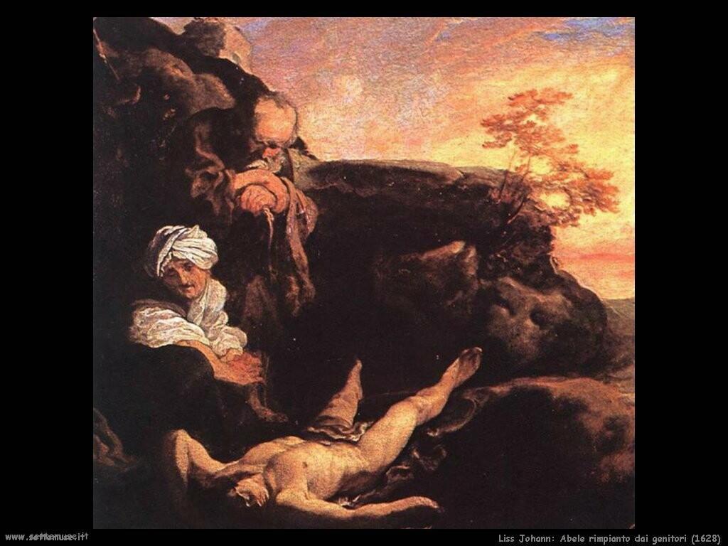 johann liss Abele rimpianto dai genitori (1628)