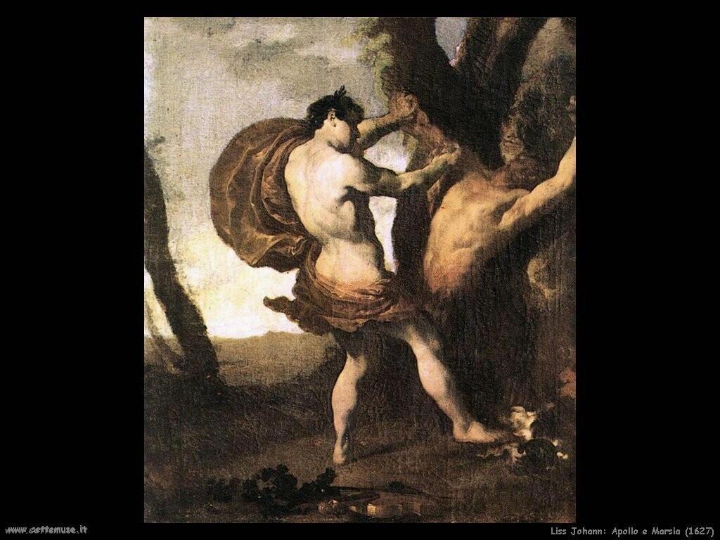johann liss Apollo e Marsia (1627)