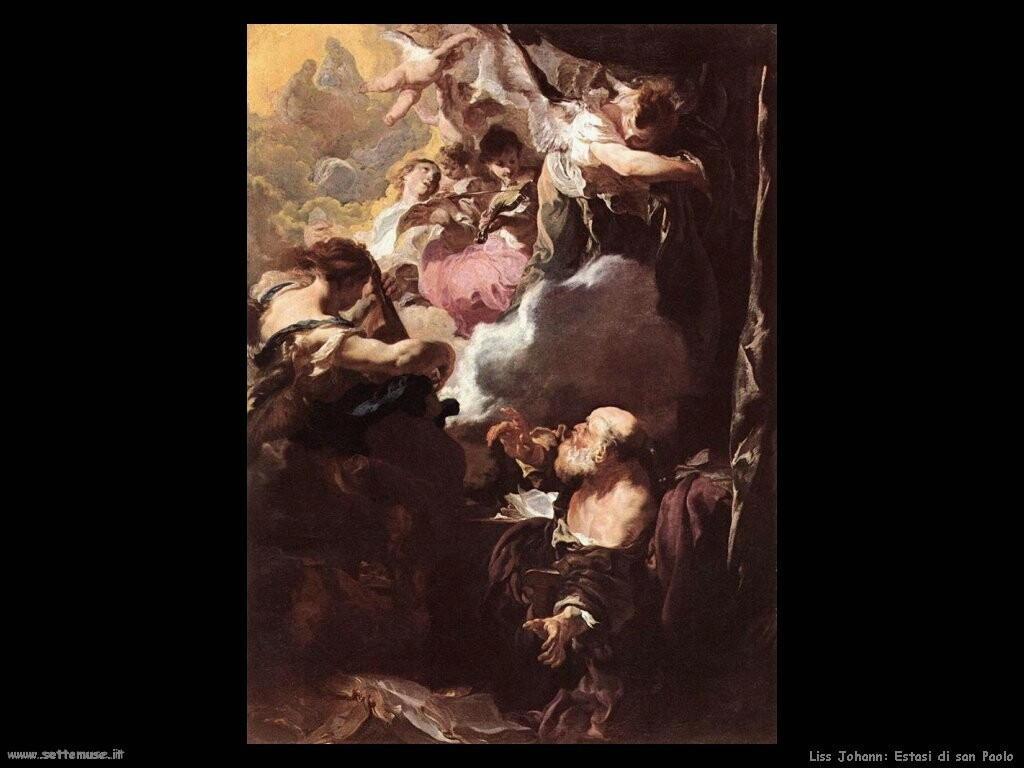 johann liss Estasi di san Paolo